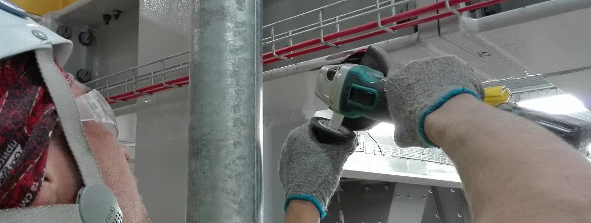 Malowanie i zabezpieczenia konstrukcji stalowych
