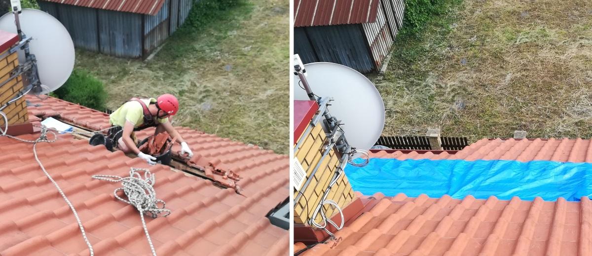 Zabezpieczenie dachu Warszawa