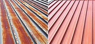 Antykorozyjne malowanie dachów